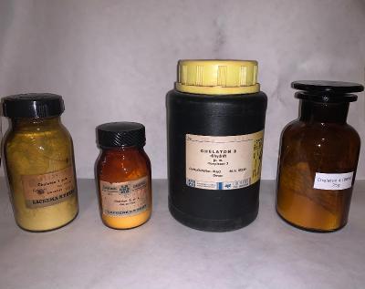 Soubor Chelatonů - Chelaton 1, 2, 3, 4 (Chelaton I,II,III, IV, 50-500g
