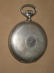 Tříplášťové kapesní hodinky Ag 800/1000