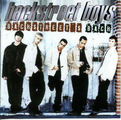 BACKSTREET BOYS - Backstreet's Back - CD  1997