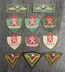 Nášivky ČSSR