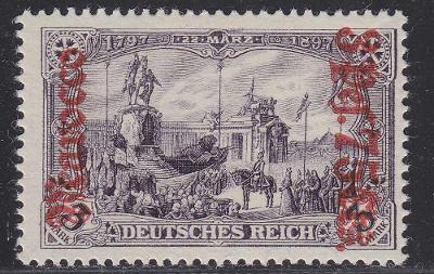 Deutsche Auslandpostämter MAROKO MiNr 32B*