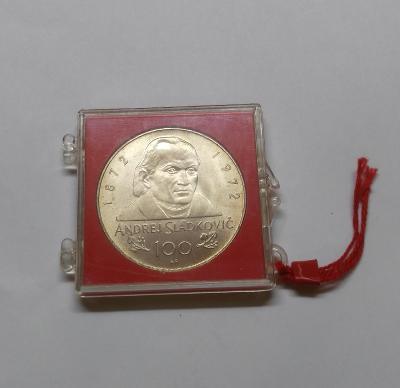 Ag medaile 1972 - Andrej Sládkovič - Luxusní stav, RL !!!