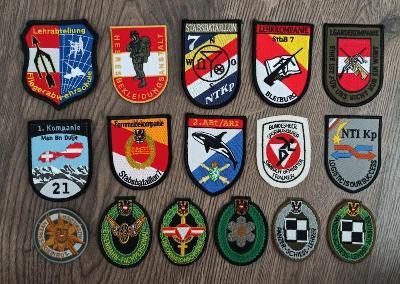 Nášivky Rakousko - Armáda
