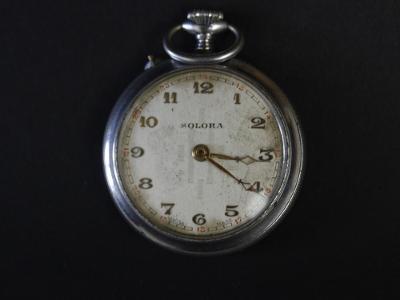 Starožitné kapesní hodinky Solora