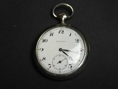 Starožitné kapesní hodinky Helvetia