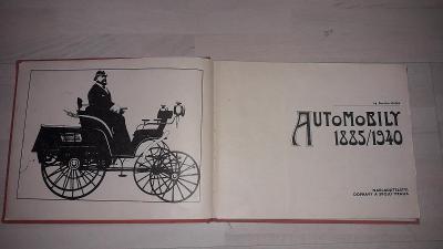 Automobily 1885 /1940 - ing.Stanislav Minářík - NADAS 1980, 176 stran