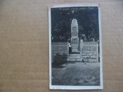 Myslív Klatovy Šumava pomník