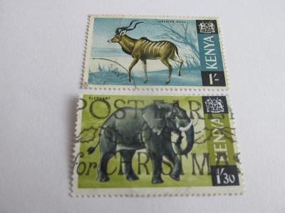 Prodávám známky  Keňa 1966, Africká fauna