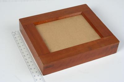 Historický, značený kopírovací rámeček 9x12cm.