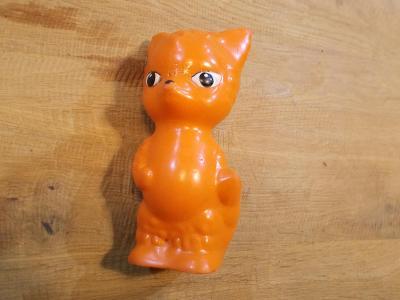 Gumová pískací hračka  16cm - od 1kč