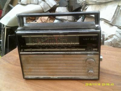 staré ruské rádio vef 206