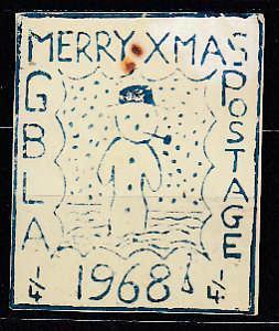 Známková země ZZ GBLA Suez Egypt blokáda lodí 1968 Vánoce