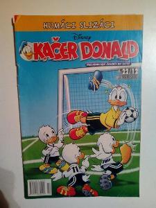 Časopis, Kačer Donald, č. 22/2012, zachovalý stav