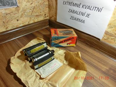Originál ULOŽENKY Favorit pedály + krabička + lístek od 1 kč .