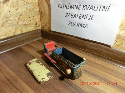Plechová karoserie - Buldozer, výrobce NETUŠÍM na díly od 1Kč.