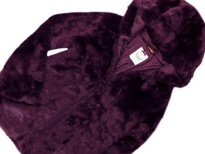 JAKO NOVÝ! Nááádherný, kožíškový kabátek Marks&Spencer, vel.164
