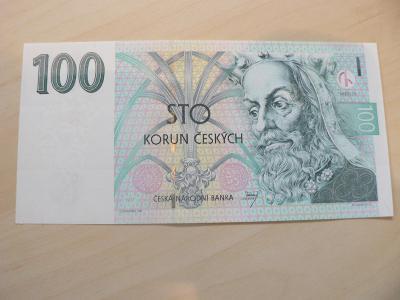 """100 Kčs 1997,série F01,stav ,,UNC"""""""