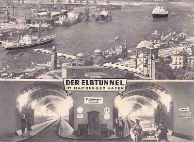 HAMBURG - TUNEL POD LABEM -385-SQ66