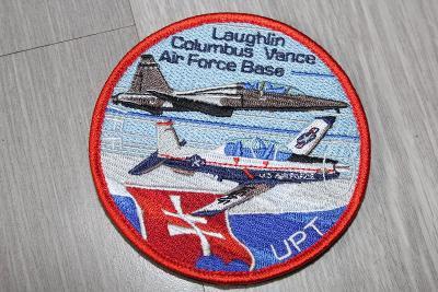 nášivka Slovensko,výcvik pilotů v USA