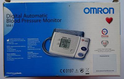 Prodám měřič krevního tlaku Omron M4-1