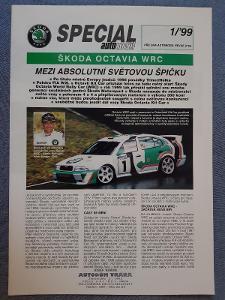 Prospekt ŠKODA OCTAVIA I WRC