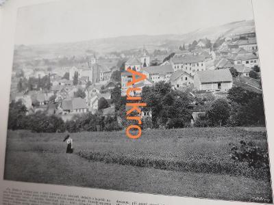 Semily a Hořice 1898