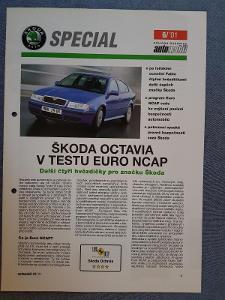 Prospekt ŠKODA Octavia I TEST Euro NCAP