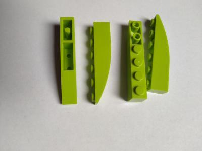 lego světle zelené  kostičky - poslední