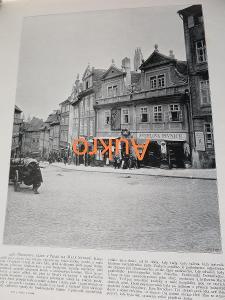 Praha Nerudova ulice Švehlova pivnice a Telč 1898