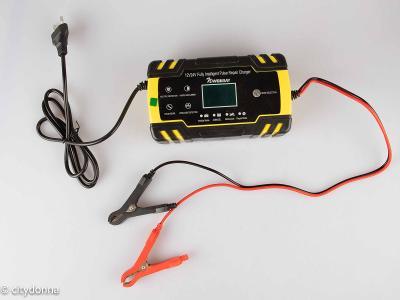 inteligentní pulzní nabíječka Nwouiiay/ 12V 24V/ zimní režim/ od 1Kč