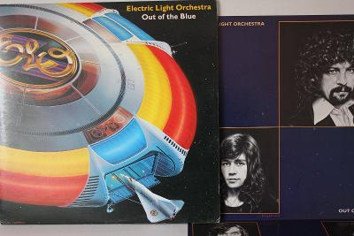 Electric Light Orchestra Out Of The Blue 2xLP 1977 vinyl UK 1.press NM