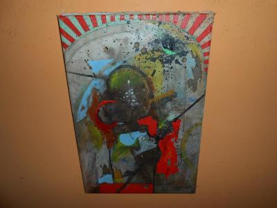 Obrazy z pozůstalostí-Zajímavé moderní dílo-K.Valter !!!!!!!!!!!!!!!!!
