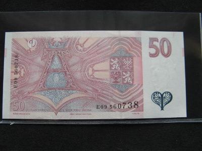 Krásná nová   bankovka 100 Kč 1997 serie E 09,UNC stav!!!