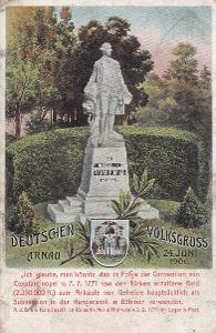Hostinné - Kaiser Josef II. Denmkmal