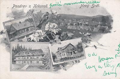 Krkonoše - Nový Svět, okénová