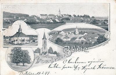Bělčice - okénková