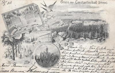 Konstantinovy Lázně - okénková, Korber