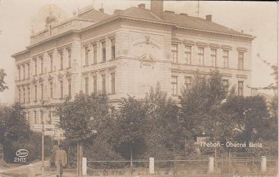 Třeboň - Obecná škola