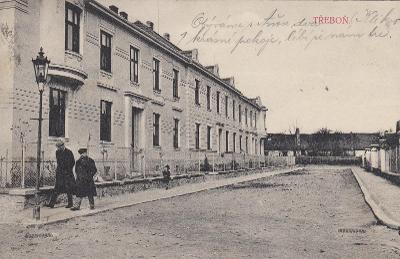 Třeboň - ulice