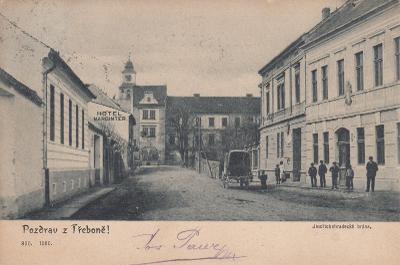 Třeboň - Jindřichohradecká brána, hotel Marginter, povoz