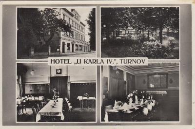 Turnov - okénková, hotel U Karla IV.