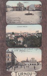 Turnov - trojokénková, náměstí, celkový pohled