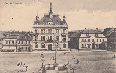 Turnov - část náměstí II.