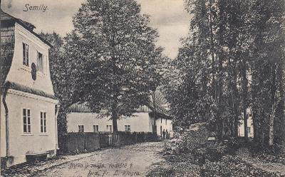 Semily - bývalý mlýn, rodiště Dr. Riegra
