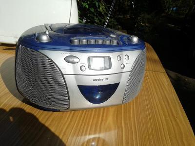 rádio UNIVERSUM nečte CD  - VIZ FOTO