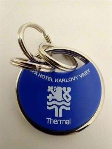 přívěšek na klíče - hotel Thermal Karlovy Vary