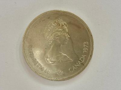 MINCE, MEDAILE STŘÍBRNÁ 10 DOLLARS, ELIZABETH II, 1973