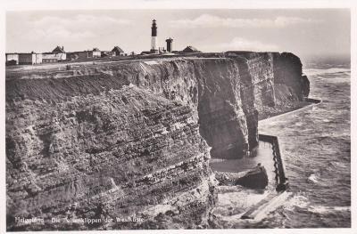Německo, Helgoland, Severní moře - prošlá 1938