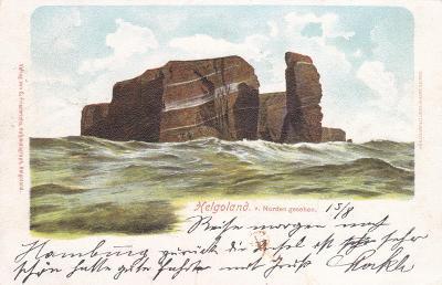 Německo, Helgoland, Severní moře - prošlá 1901