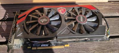 Grafická karta Radeon rx R9 280 Gaming 3GB nefunkční